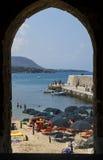 Cefalu, Sicily, Włochy Zdjęcia Royalty Free