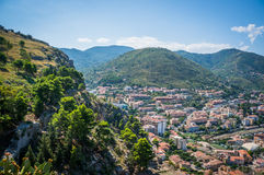 Cefalu town Italy. View at Cefalu town, Sicily, Italy Royalty Free Stock Images