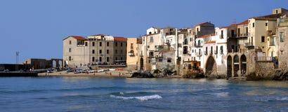 cefalu vieille Sicile image libre de droits