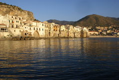 Cefalu waterfront Royalty Free Stock Photography