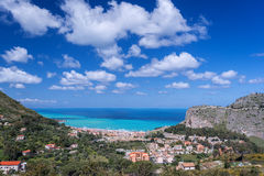 Cefaly-Stadt in Italien Lizenzfreie Stockfotografie