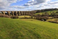 Cefn Mawr-Viadukt stockfoto
