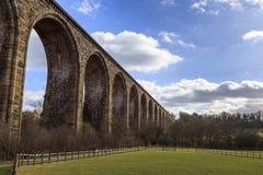 Cefn Mawr-Viadukt lizenzfreies stockbild
