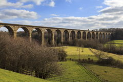 Cefn Mawr-Viadukt lizenzfreie stockfotos