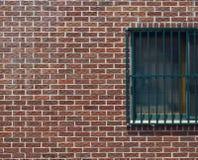 Cegła bloku ściana Obraz Royalty Free