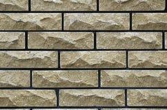 cegły ścian żółty Zdjęcia Stock