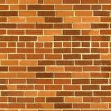 cegły ściana deseniowa bezszwowa Fotografia Royalty Free