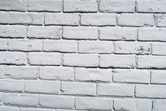 cegły białe Obrazy Stock