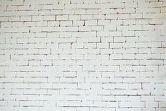cegły białe Fotografia Royalty Free