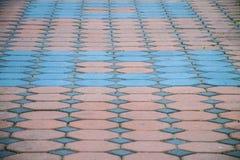 Cegły Blokowa podłoga Obrazy Royalty Free