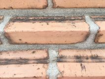 Cegły blokowa tekstura ściana, drabina, podłoga Obraz Stock