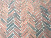 Cegły blokowa tekstura ściana, drabina, podłoga Obrazy Stock
