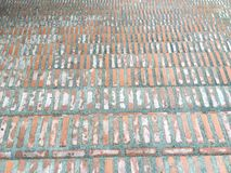 Cegły blokowa tekstura ściana, drabina, podłoga Obraz Royalty Free