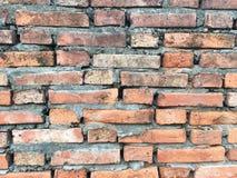 Cegły blokowa tekstura ściana, drabina, podłoga Fotografia Royalty Free