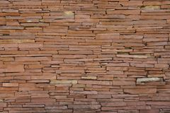 cegły brąz Obraz Royalty Free