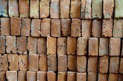 Cegły Brogowali Pionowo Ręcznie Robiony zdjęcia royalty free