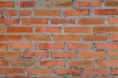 cegły deseniowa czerwieni ściana Obraz Royalty Free