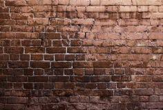 Cegły grunge ściana Obrazy Royalty Free