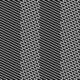 Cegły i lampasa Wektorowy Bezszwowy wzór Obrazy Stock