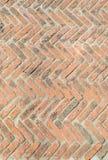Cegły podłoga tło Zdjęcia Stock
