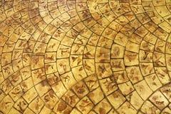 Cegły podłoga tekstura Obrazy Stock