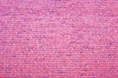 Cegły różowy tło Chłodno klasyczny czerwonej cegły tło zdjęcia royalty free
