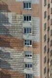 cegły target430_1_ fasadową starą czerwień Obrazy Stock