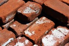 cegły target2076_1_ materiał budowlany stos Zdjęcia Royalty Free