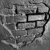 Cegły w ścianie Obrazy Royalty Free