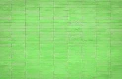 cegły zielone ściany Zdjęcia Royalty Free