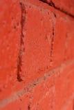 cegła biel odosobniony czerwony Obraz Royalty Free
