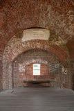Cegła Wysklepia w forcie Pulaski Zdjęcie Stock