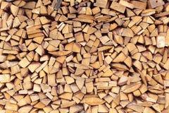 cegły drewnianych Zdjęcie Royalty Free