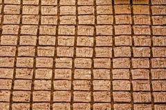 Cegły manufactory Meybod Obraz Stock