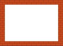 cegły rama Zdjęcie Stock