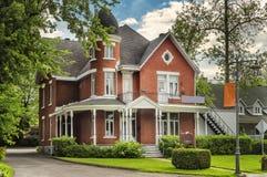 cegły w domu stary Fotografia Royalty Free