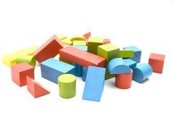 cegły zabawka Fotografia Royalty Free