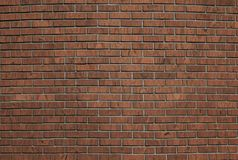 cegieł czerwieni ściana Zdjęcia Stock