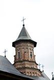 cegieł kościół barwiący wierza Fotografia Royalty Free