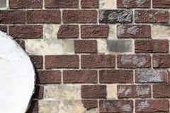 ceglana ściana stara kamienna Zdjęcia Royalty Free