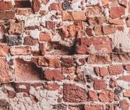 ceglana ściana tła stara obrazy stock