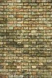 ceglana ściana tła stara Fotografia Stock