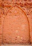 ceglana ściana tła stara Zdjęcie Royalty Free