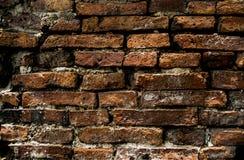 ceglana ściana stara czerwieni Fotografia Stock