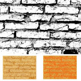 ceglana ściana tekstury Obraz Stock