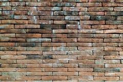 ceglana ściana tekstury crunch Obrazy Stock