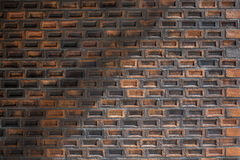 ceglana ściana tekstury crunch Obrazy Royalty Free