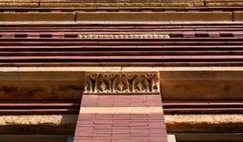 Ceglana fasada Zdjęcie Royalty Free