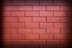 ceglana formata plac czerwony ściana Obraz Royalty Free
