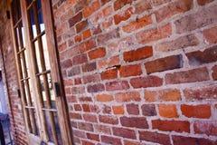 ceglana francuska nowa Orleans ćwiartki ściana zdjęcia stock